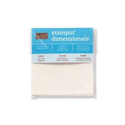 Stampin' Dimensionals - 104430