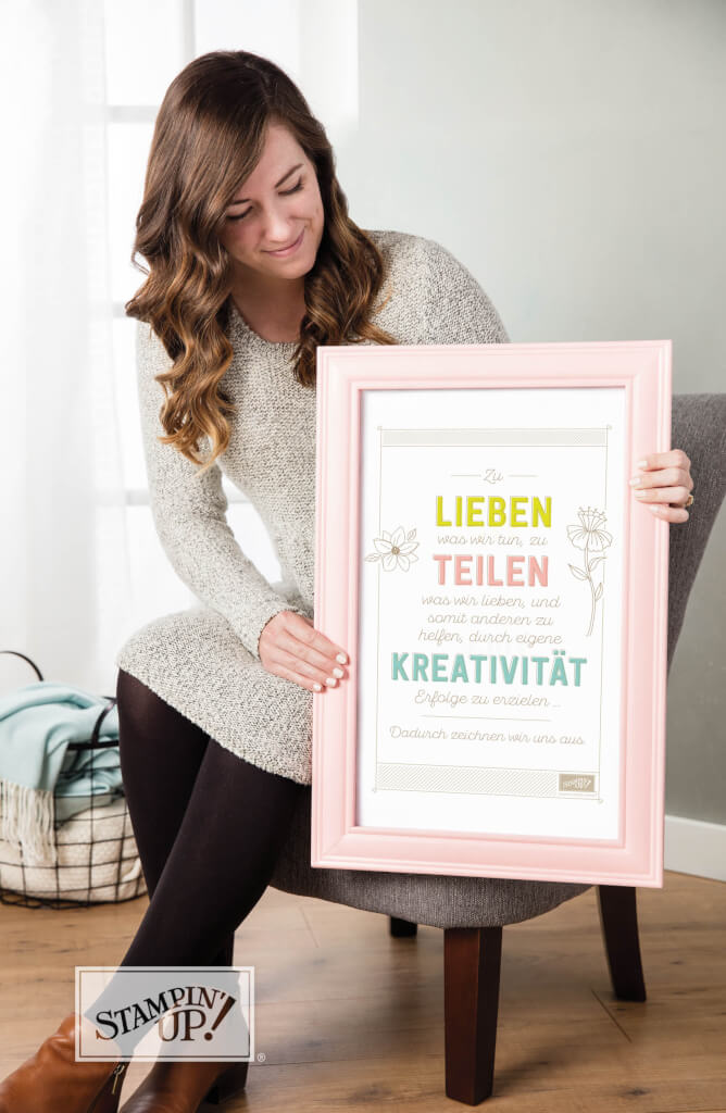 Stampin' Up! Blog Leitspruch von Stampin' Up!