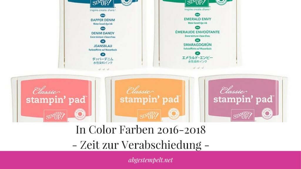 zeit zur verabschiedung in color farben 2016 2018 christine w hr. Black Bedroom Furniture Sets. Home Design Ideas
