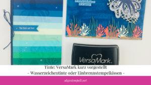 Tinte VersaMark Wasserzeichentinte oder Einbrennstempelkissen Blogvorschaubild