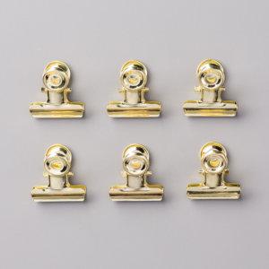 Goldfarbene Buchklammern - 144130