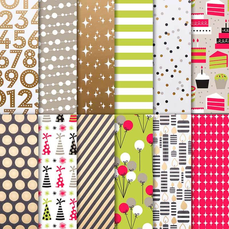Besonderes Designerpapier Broadway - 146277