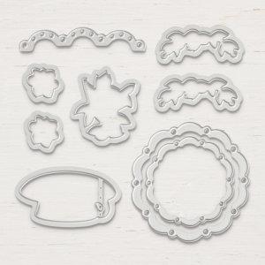 Framelits Formen Teestube - 146821, 9 Stanzformen