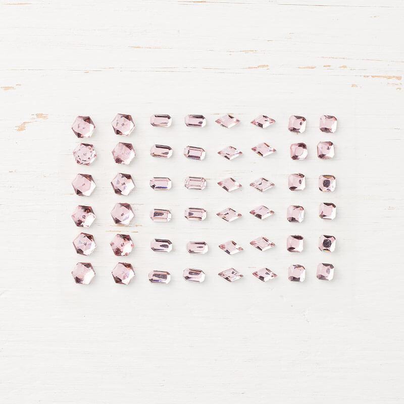 Strass-Schmucksteine in Blütenrosa - 146914