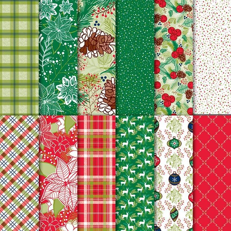 Designerpapier Weihnachtsfreuden - 146921