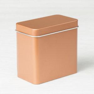 Teedosen in Kupfer - 147034 , 4 Dosen