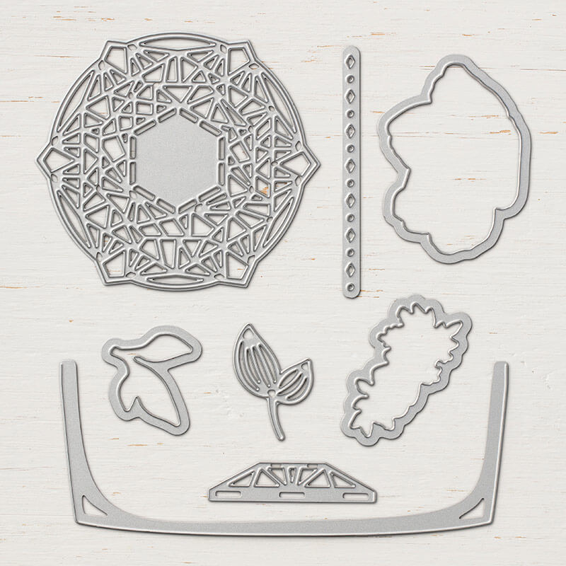 Thinlits Formen Zarte Zierde - 147043