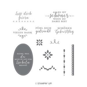 Stempelset Liebevolle Details - 147423