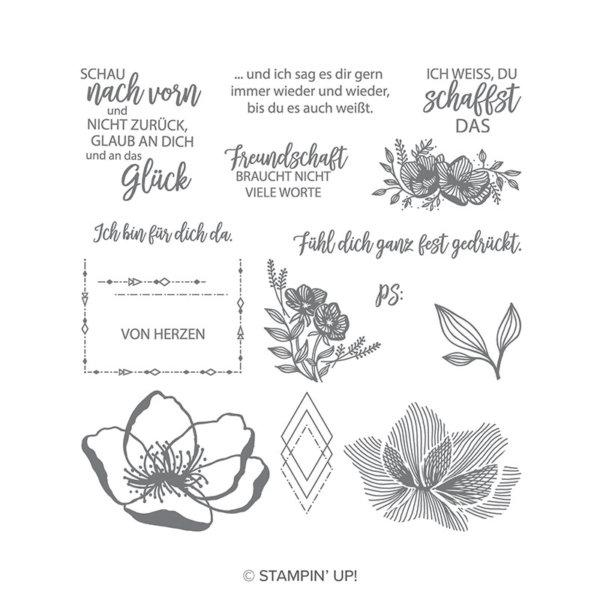 Stempelset Blütenzauber - 147978