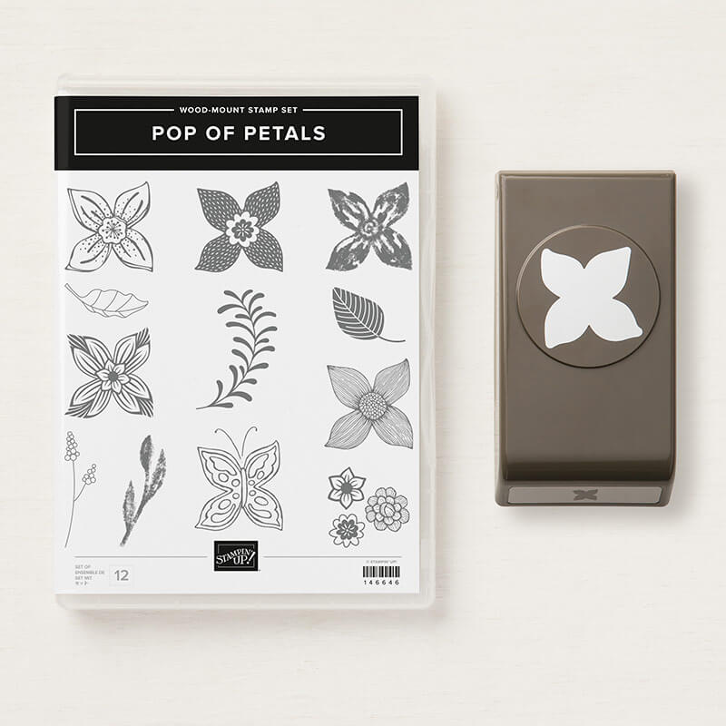 Produktpaket Pop of petals - 148384 Holz