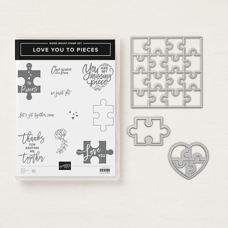 Produktpaket Love you to pieces - 148394 Holz