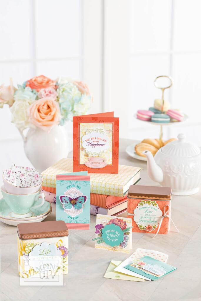 Stampin' Up! Produktreihe Teestube