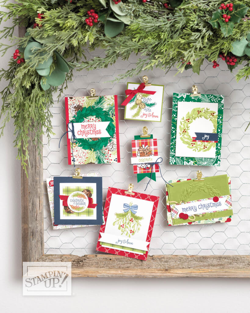 Stampin' Up! Produktreihe Weihnachtsfreuden