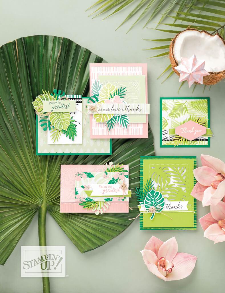 Stampin' Up! Produktreihe Traumhaft tropisch