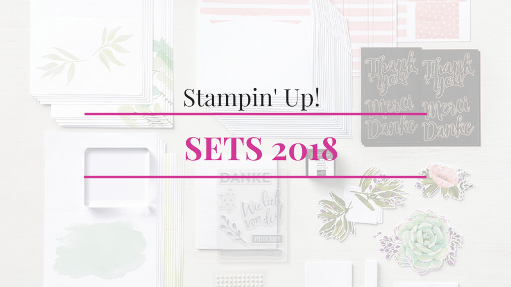 Stampin up Sets 2018