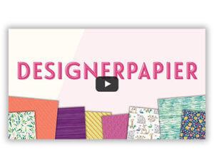 Video Designerpapier-Aktion