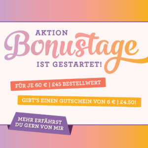 Aktion Bonustage 2018