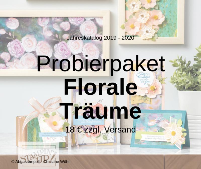 Probierpaket Florale Träume