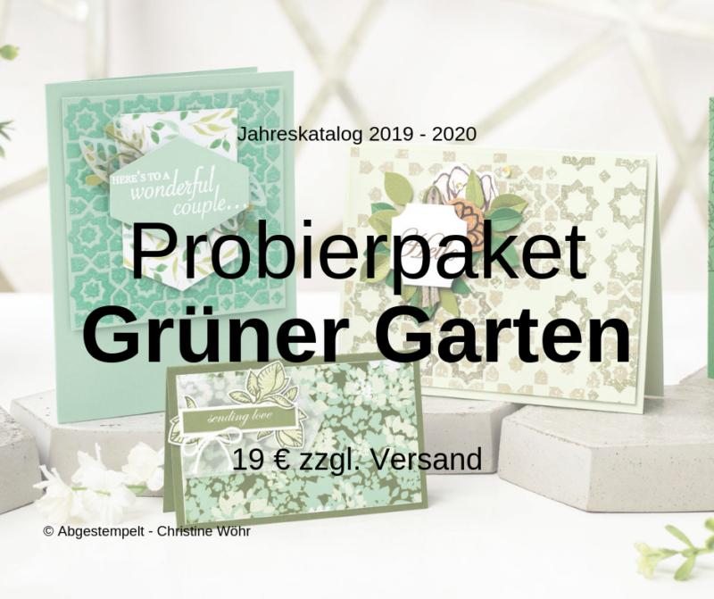 Probierpaket Grüner Garten