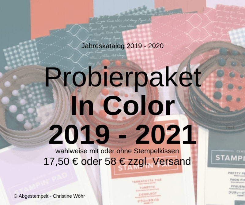 Probierpaket In Color 2019 - 2021