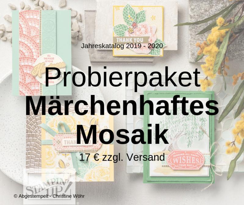 Probierpaket Märchenhaftes Mosaik