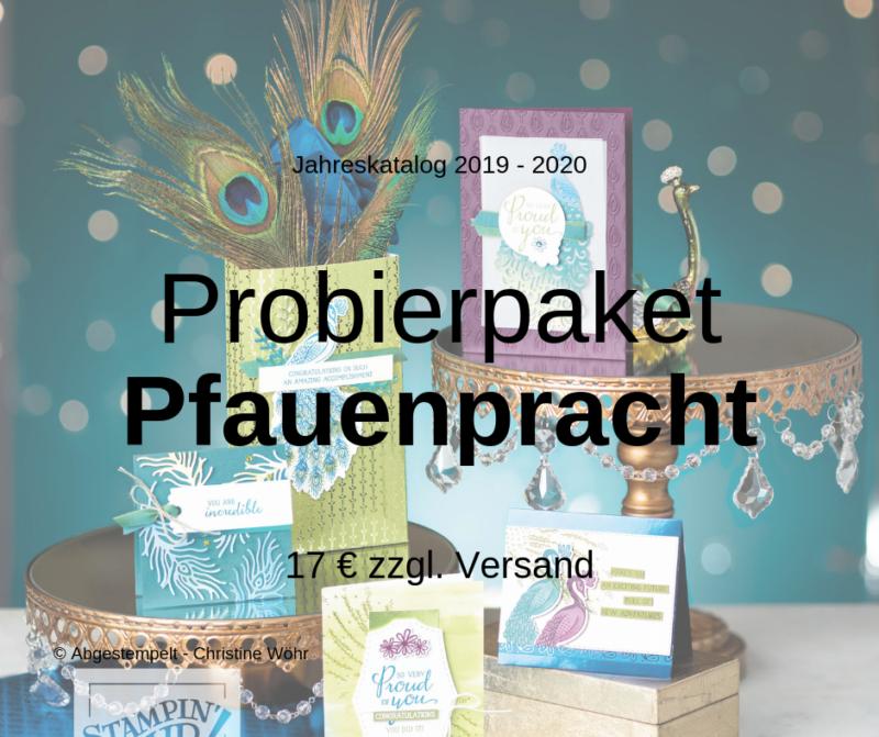 Probierpaket Pfauenpracht
