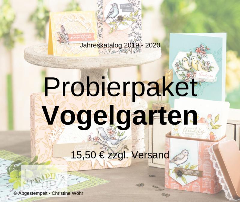 Probierpaket Vogelgarten