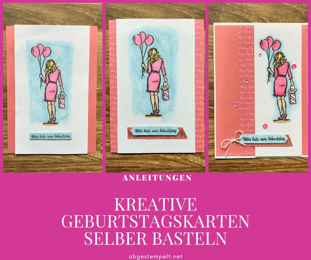 Kreative Geburtstagskarten Selber Basteln Mit Anleitung