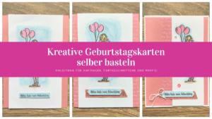 kreative geburtstagskarten selber basteln Blogvorschaubild