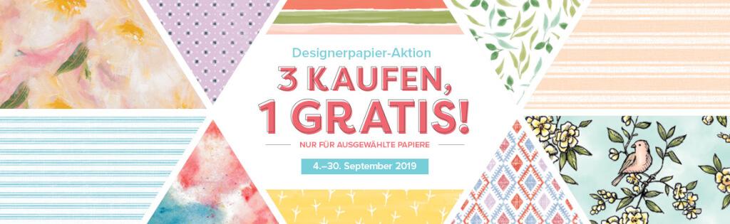 Designerpapier Aktion 2019 Banner