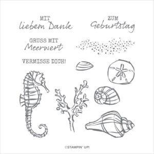 Stempelset Mit Meerwert 150847 Umriss-Stempel