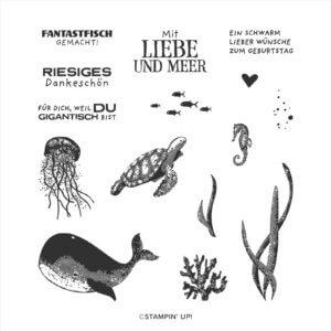 Stempelset Fantastfisch 152844 Vollmotiv-Stempel