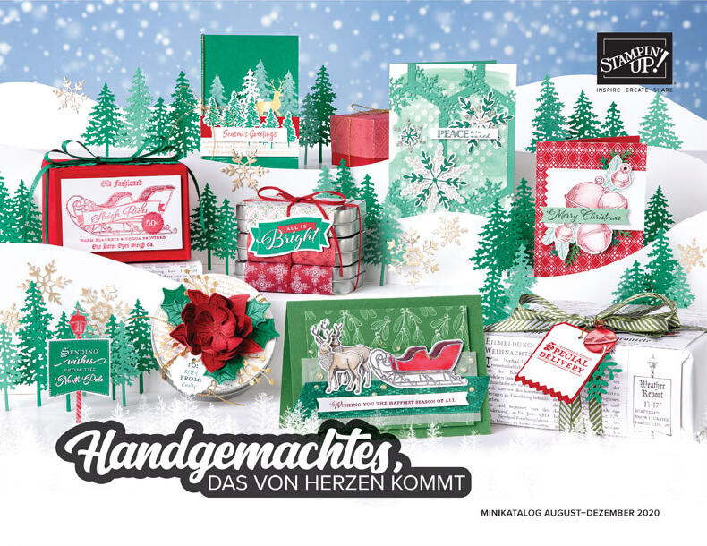 Stampin' Up! Herbst- /Winterkatalog 2020