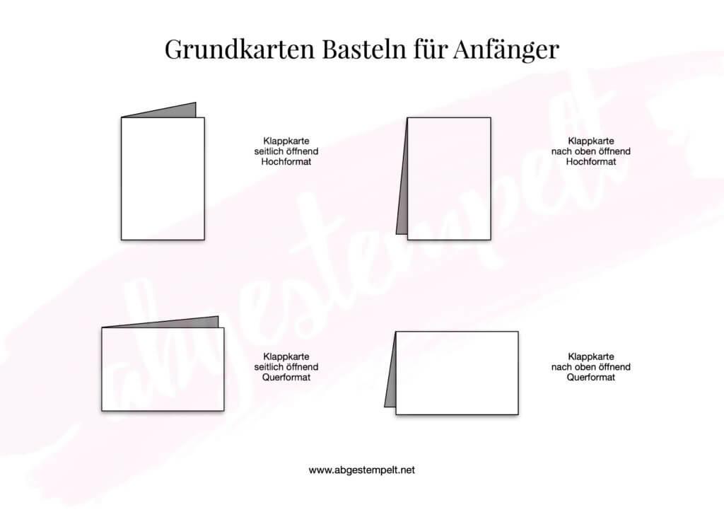 Grundkarten Basteln für Anfänger