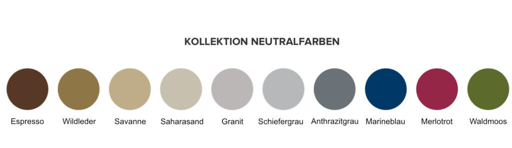 Kollektion Neutralfarben Stampin up