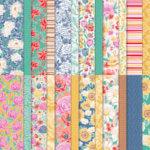 Designerpapier Blumen für jede Jahreszeit - 152486