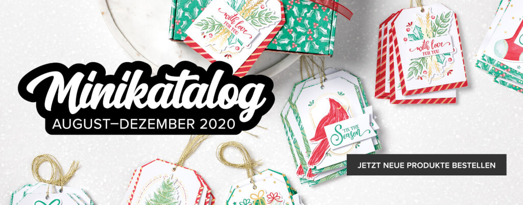 Stampin Up Minikatalog 2020 Banner