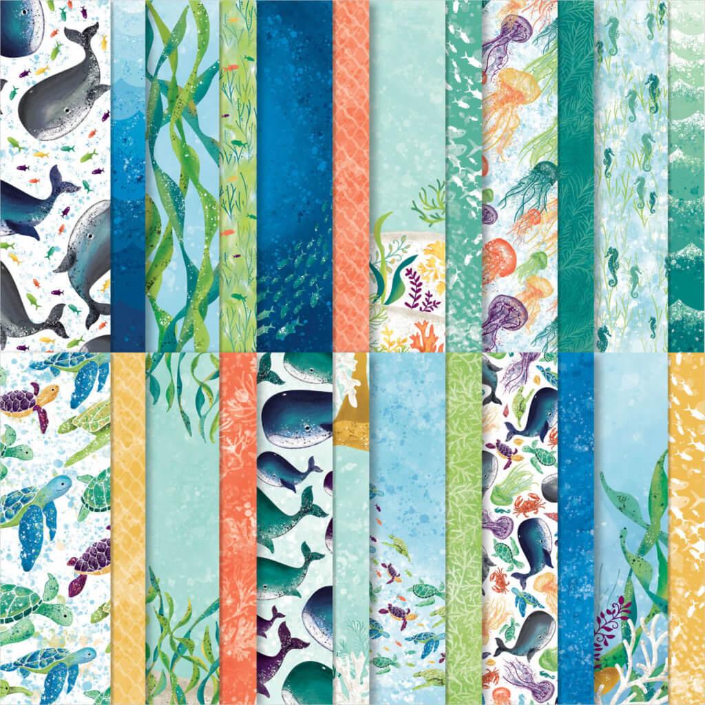 Designerpapier Meereswelt - 152460