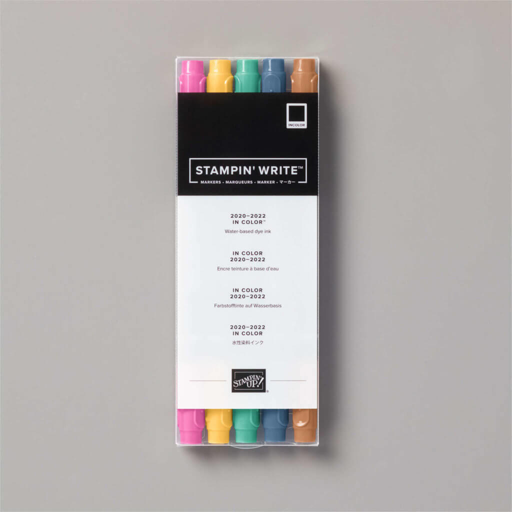 STAMPIN' WRITE MARKER IN COLOR 2020-2022- 153125