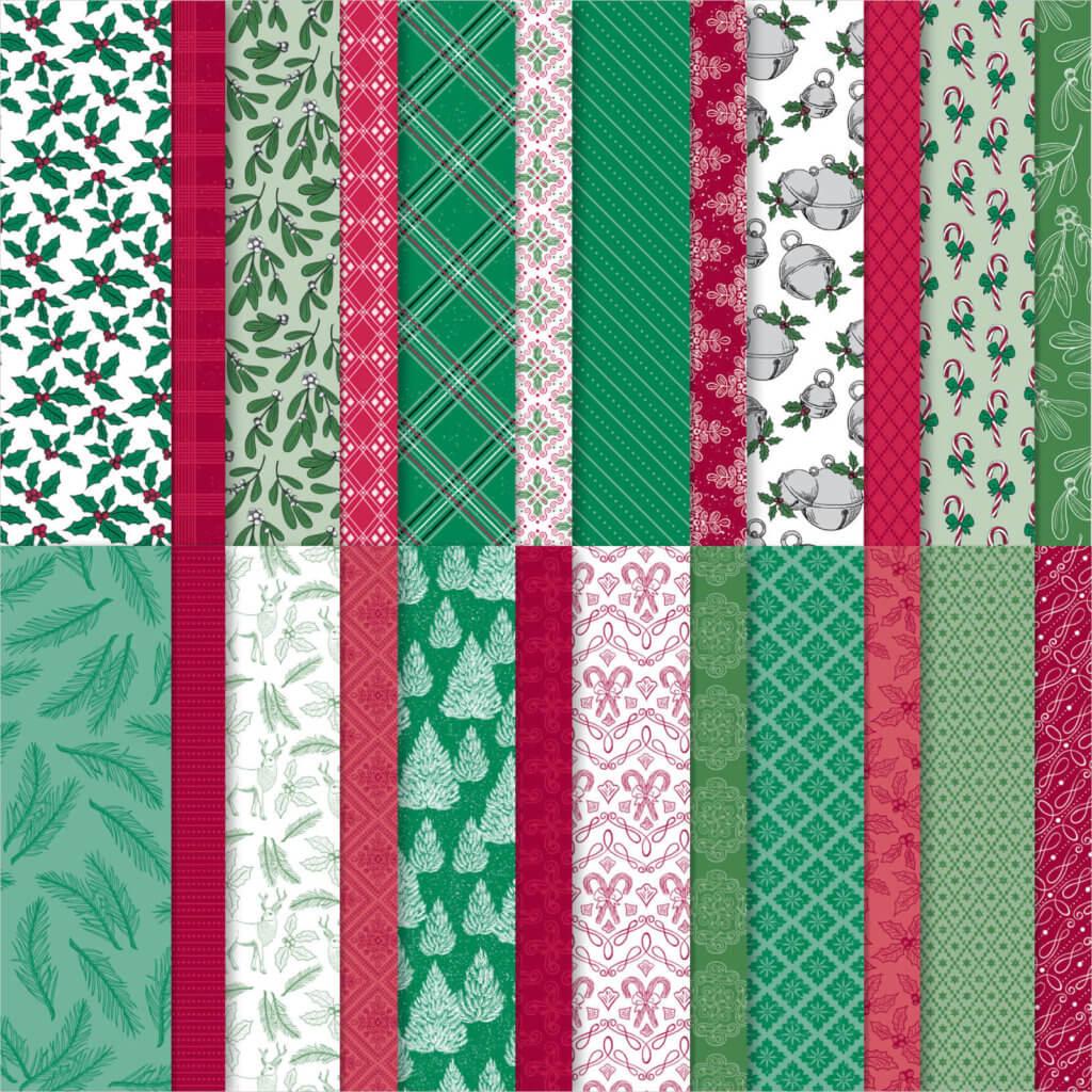 Designerpapier So weihnachtlich - 153489
