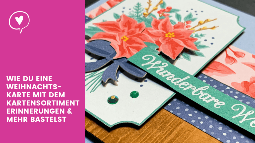 Weihnachtskarte mit Kartensortiment Erinnerungen & Mehr Blogvorschau