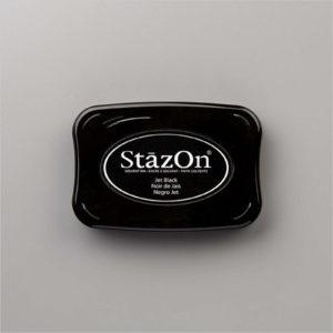 Stazon Stempelkissen schwarz - 101406