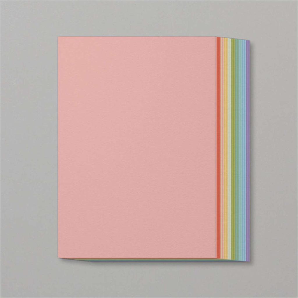 Stampin' Up! Farbkartonset Pastellfarben - 147000