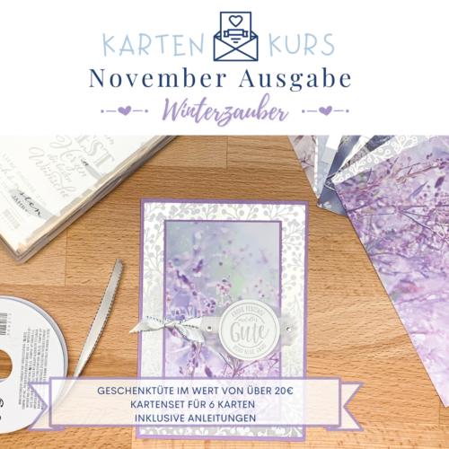 Kartenkurs November Winterzauber