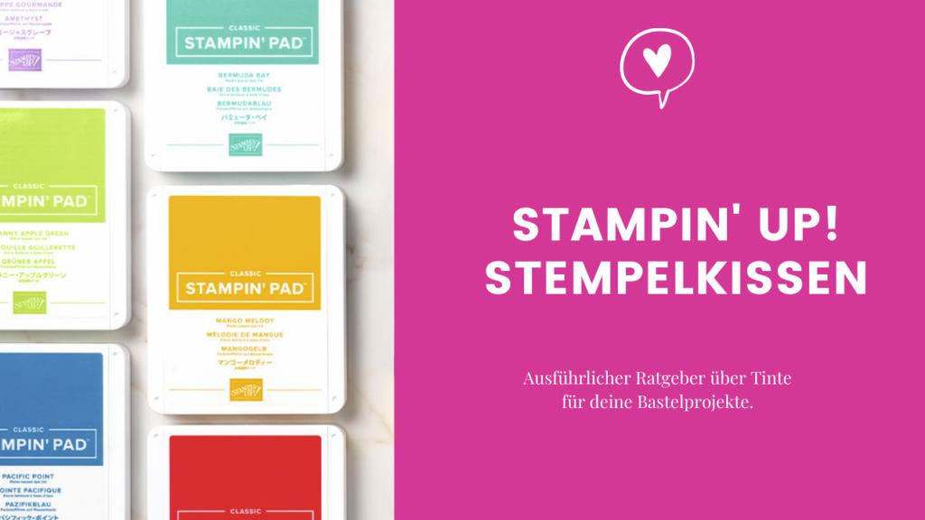 Stampin' Up! Stempelkissen Blogpost