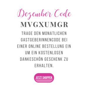 Gastgeberinnen Dezember Code