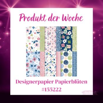 Stampin up Produkt der Woche Papierblüten