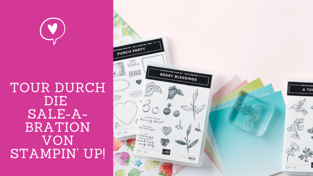 Sale-a-bration 2021 Stampin Up Tour