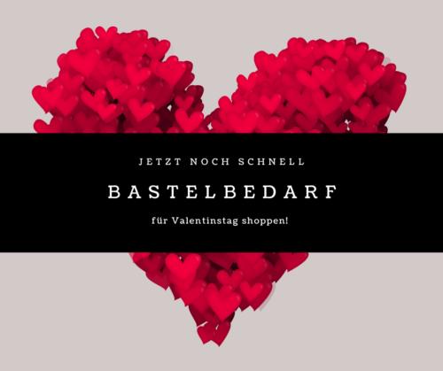 Stampin Up Valentinstag Bastelbedarf
