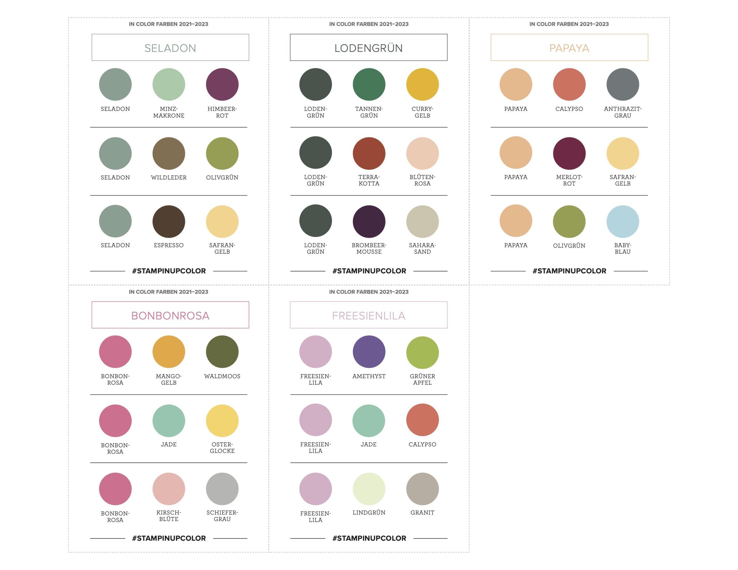In Color Color Coach Farbkombinationen 2021-2023